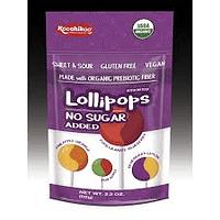 Lollipops Orgánicos Sin Azúcar y Sin Alergenos
