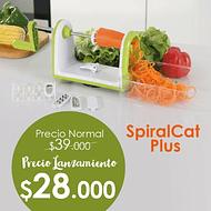 SPIRALCAT PLUS- ESPIRALIZADOR DE VERDURAS Y FRUTAS