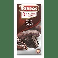 Chocolate 72% cacao Sin Azúcar
