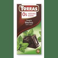 Chocolate 0% Azúcar Menta