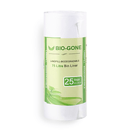 Bolsa de Basura Biodegradable 75 lts.