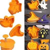 Moldes de galletas Halloween