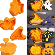 Moldes de galletas Halloween