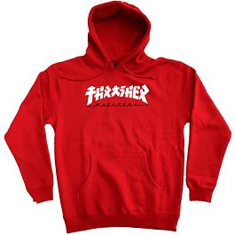 Poleron THRASHER Godzilla Rojo