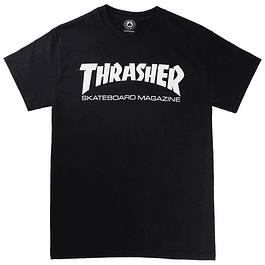 Polera THRASHER Negra (Skate)