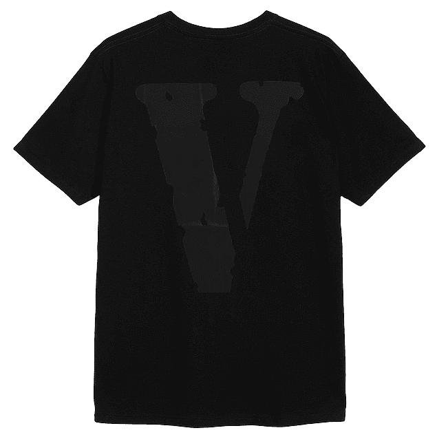 Polera Vlone Negra/Negra