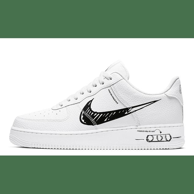 Nike AF1 Sketch (3 Colores)