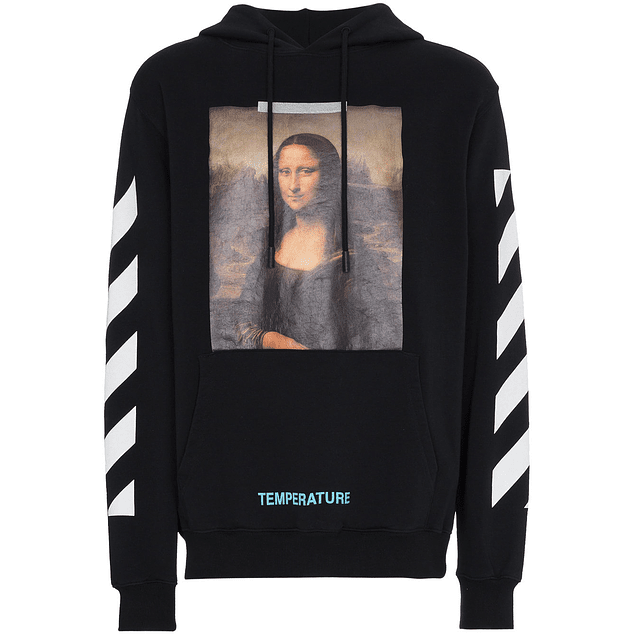 Poleron Off-White ''MONA LISA'' Negro