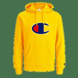 Poleron CHAMPION ''C'' (Estampado) Amarillo