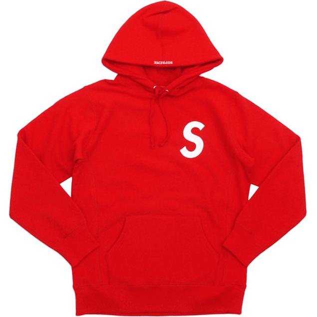 Poleron SUPREME ''S'' Rojo