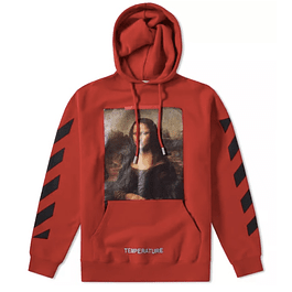 Poleron OFF WHITE ''MONA LISA'' Rojo