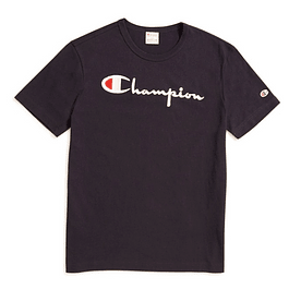 Polera CHAMPION Negra (Estampada)