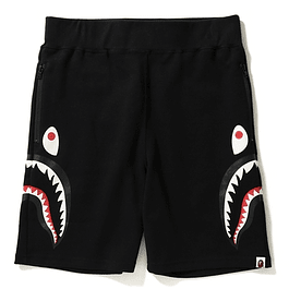 Short BAPE SHARK Negro (Costado)