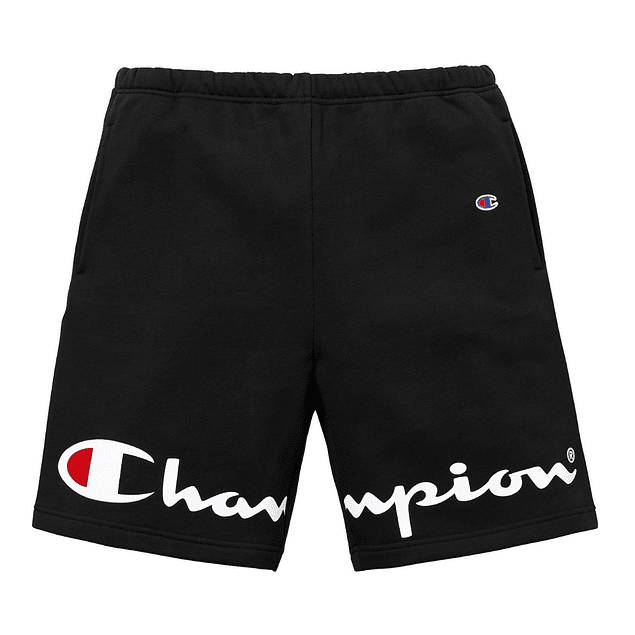 Short CHAMPION (Cortado) Negro