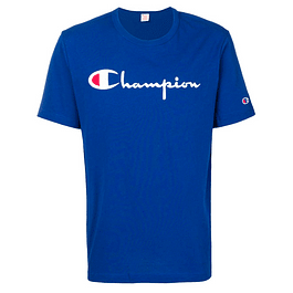 Polera CHAMPION Azul (Bordado)