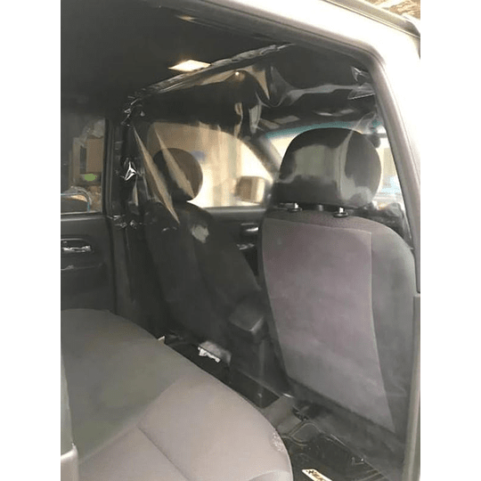 Protector Separador Cabina Pvc Auto Taxi Camionetas