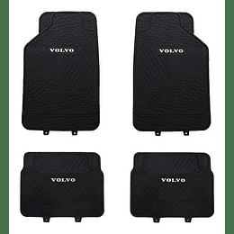 Pisos De Goma 4 Piezas Marca Volvo Para Vehículos