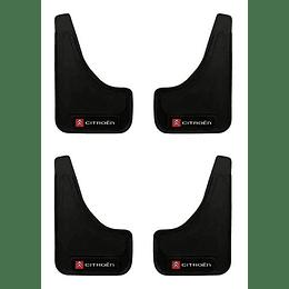Pack 4 Guardafango Citroen Para Auto Universal Exterior