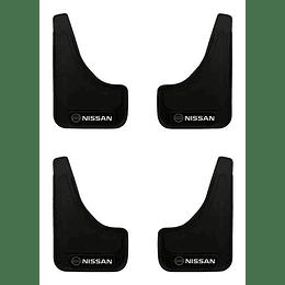 Pack 4 Guardafango Nissan Para Auto Universal Exterior