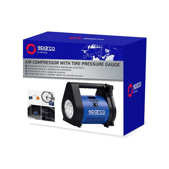 Compresor De Aire Para Neumaticos Auto Spt-160 Sparco