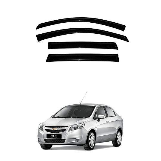 Aletas Bota Agua Chevrolet Sail 2010-2015