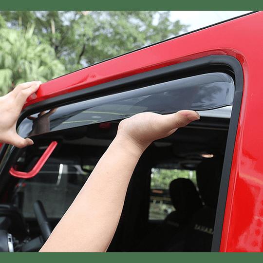 Aletas Bota Aguas Toyota Hilux Revo 2016-2020
