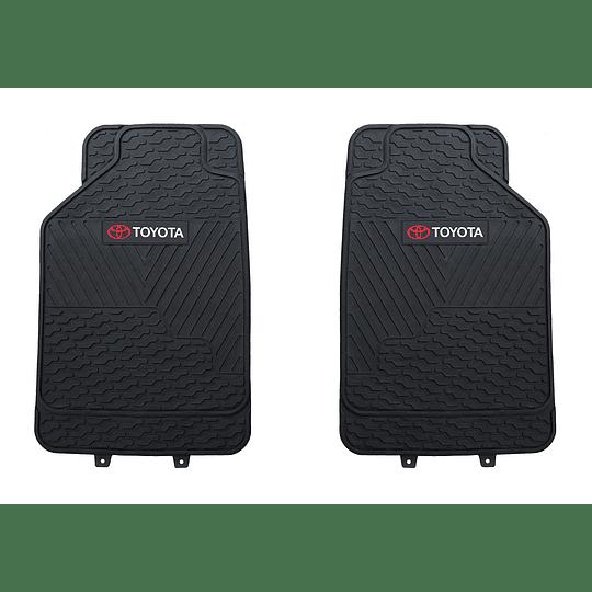 Pisos De Goma 3 Piezas Marca Toyota Para Vehículos