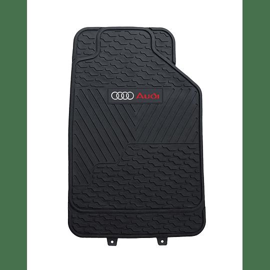 Pisos De Goma 3 Piezas Marca Audi Para Vehículos
