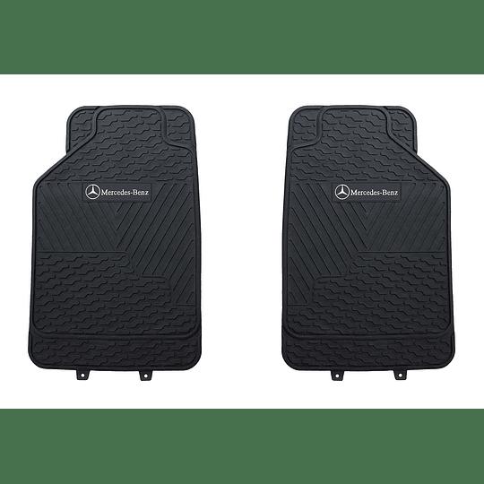 Pisos De Goma 3 Piezas Marca Mercedes Benz Para Vehículos