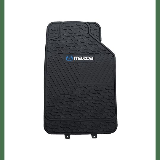 Pisos De Goma 3 Piezas Marca Mazda Para Vehículos