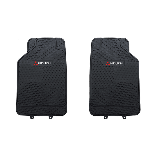 Pisos De Goma 3 Piezas Mitsubishi Para Vehículos
