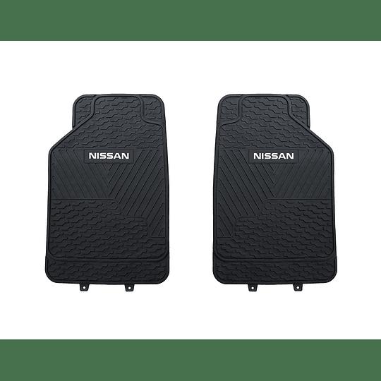 Pisos De Goma 3 Piezas Marca Nissan Para Vehículos