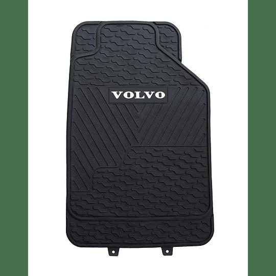 Pisos De Goma 3 Piezas Marca Volvo Para Vehículos