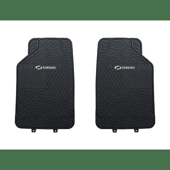 Pisos De Goma 3 Piezas Marca Samsung Para Vehículos