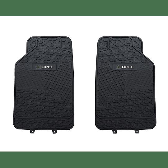 Pisos De Goma 3 Piezas Marca Opel Para Vehículos
