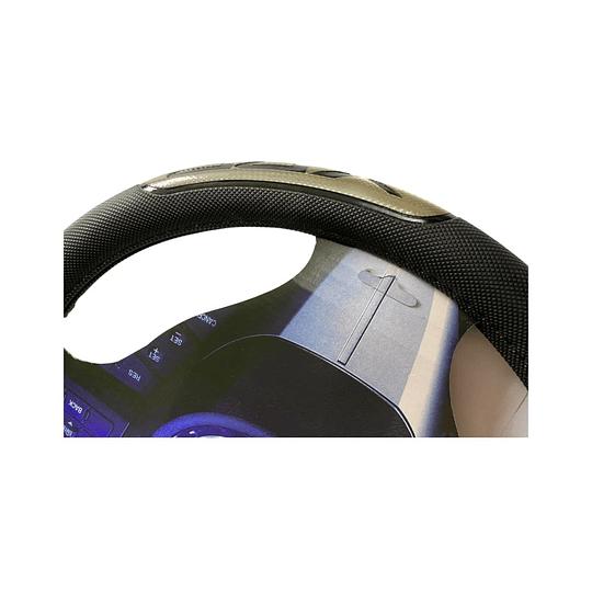 Cubre Volante Universal Para Auto Negro con Gris
