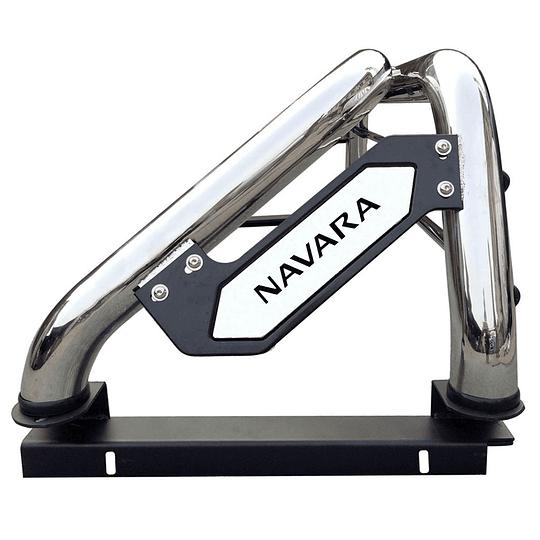 Barra Antivuelco Platina Inoxidable Nissan Navara