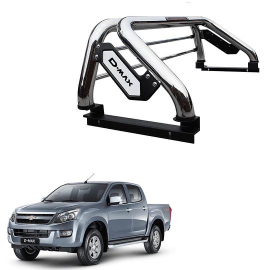 Barra Antivuelco Platina Inoxidable Chevrolet D-max 2015-2021