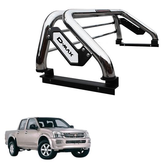 Barra Antivuelco Platina Inoxidable Chevrolet D-max 2002-2014