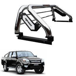 Barra Antivuelco Platina Inoxidable Ford Ranger 2006-2011