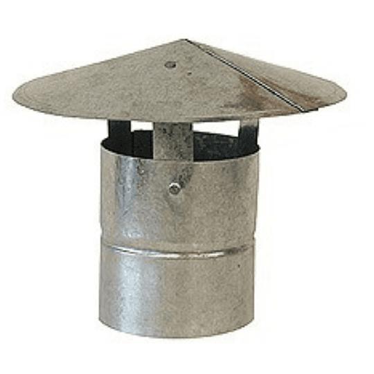 Gorro para Tubo Acero Galvanizado Medida 4 ½''