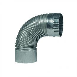 Codo para Tubo Acero Galvanizado Medida 4'' x 90°