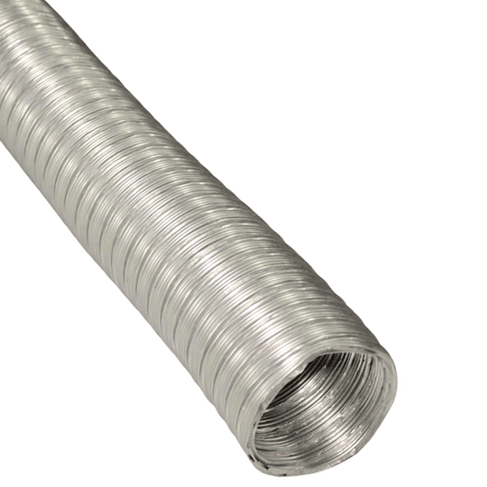 Tubo Corrugado Aluminio Medida 4'' x 3 mt