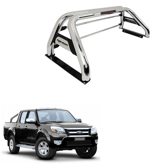 Barra Antivuelco Acero Inoxidable Ford Ranger 2006-2012