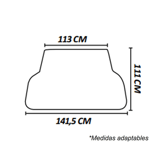 Piso Goma Maleta Maletero Para Autos y Camionetas