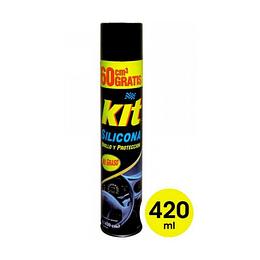 Silicona para Auto Brillo y Protección 273 g. Kit