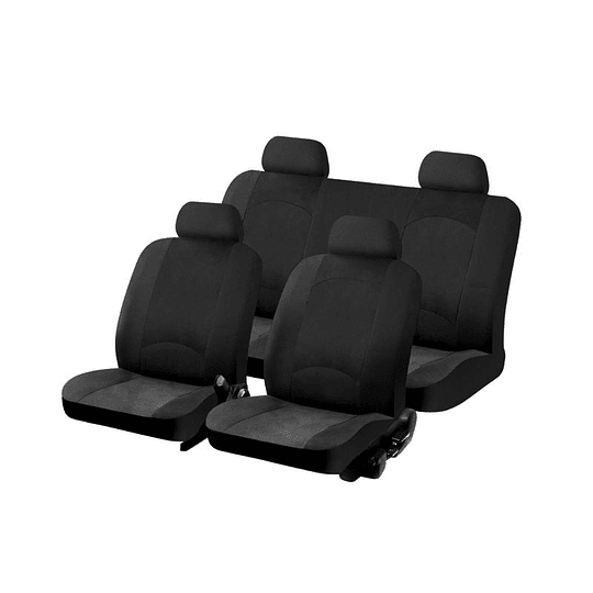Fundas cubre asientos Vehiculo Universal Dragon Negro Safari