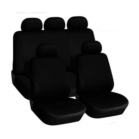 Fundas cubre asientos Vehiculo Universal Ride Negro Safari