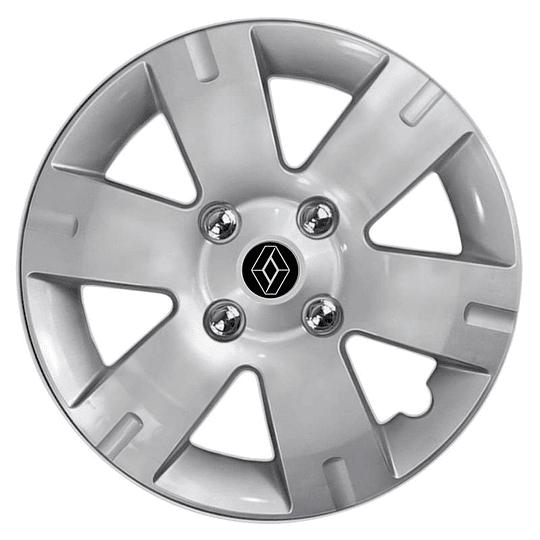 Tapas de Ruedas para Vehículo Aro 15 4Pernos Renault