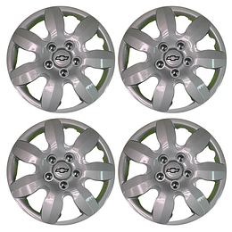Tapas de Ruedas para Vehículo Aro 15 5Pernos Chevrolet